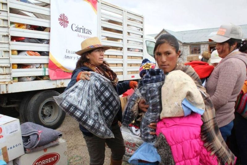 Help people who are in a situation of special vulnerability in the City of Arequipa, Peru