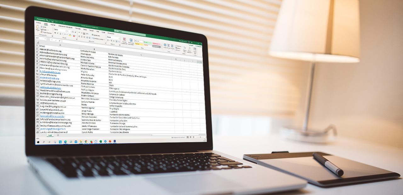 Excel para organizaciones sin fines de lucro: gestión de datos e informes (en Español)